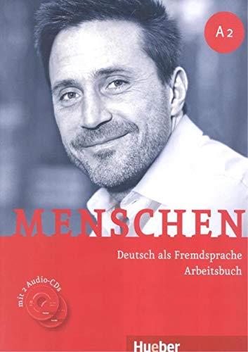 MENSCHEN A2 Ab+CD-Audio (ejerc.): Arbeitsbuch A2 mit 2 Audio-CDs: Vol. 2