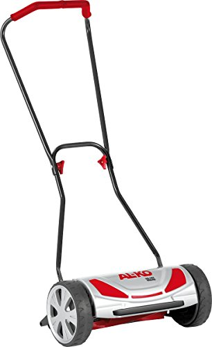 AL-KO Spindelmäher Soft Touch 38 HM Comfort (Schnittbreite 38 cm, Schnitthöhe 4-Fach verstellbar, nur 7.9 kg schwer, extrem wendige Bauweise, für Rasenflächen bis 250 m²)