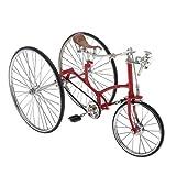 Toygogo 1: 6 Triciclo Antiguo Coche Modelo Bicicleta para Decoración...