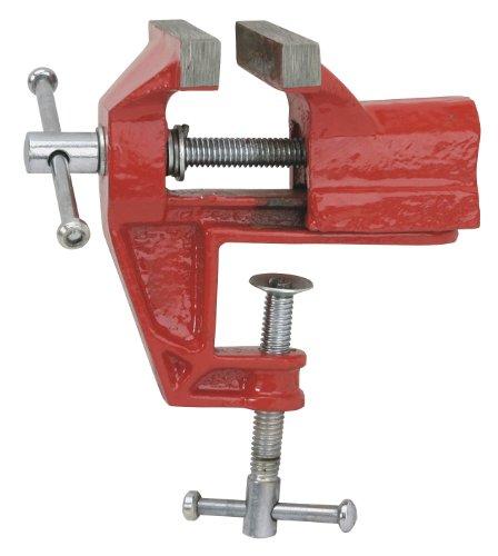Cogex 64603 - Tornillo de banco (acero, con agarre para mesa)