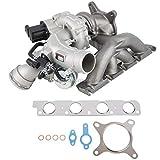 Stigan Turbo w/Turbocharger Gaskets For Volkswagen VW Tiguan GTI Jetta New Beetle Passat CC Eos Audi A3 Q3 2.0T CCTA - Stigan 842-0078 New