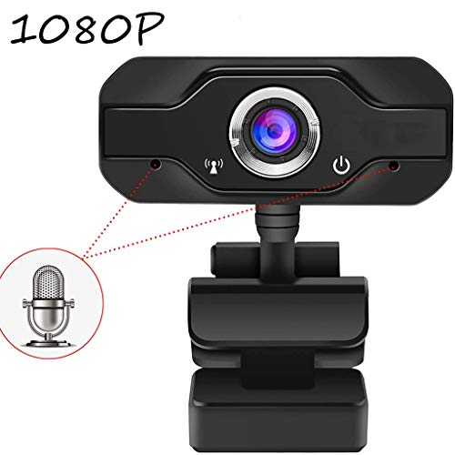 Full HD-Webcam 1080P Met Ingebouwde Microfoon, Breedbeeldvideobellen En Opnemen, 1080P Streaming Camera, Desktop of Laptop Notebook Webcam