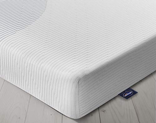 Silentnight 3 Zone Memory Foam Rolled Mattress | Made in the UK |Medium |Euro Single