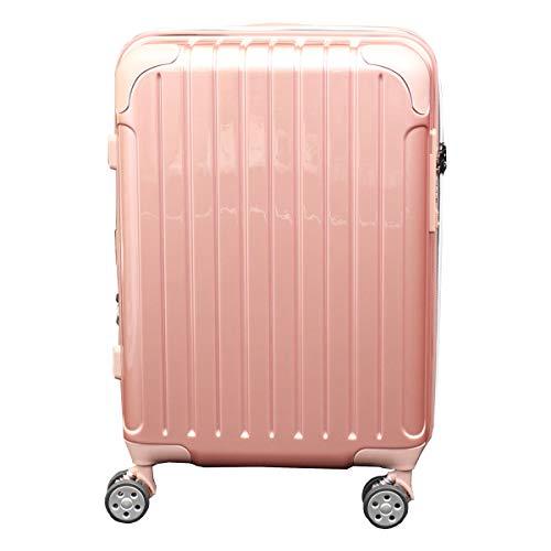 [シフレ] スーツケース 4輪 機内持ち込み 42L 48.5cm 3.1kg スカイラボ SKY2145-48 拡張 LCC対応 ピンクゴールド