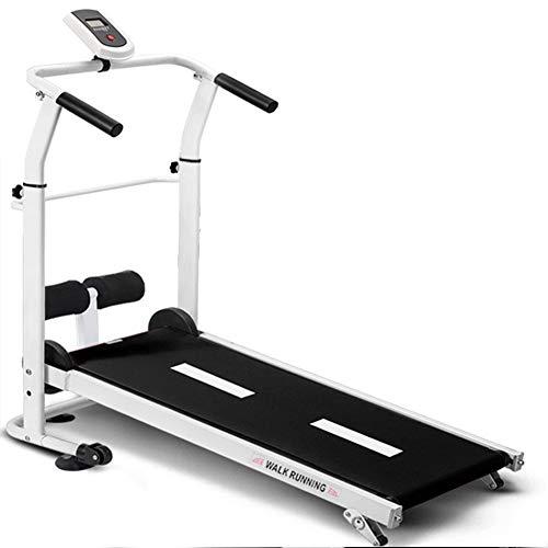 Opvouwbare loopband Gemotoriseerd hardlopen Joggen Wandelen Draagbaar fitnessapparatuur Klein multifunctioneel,Black