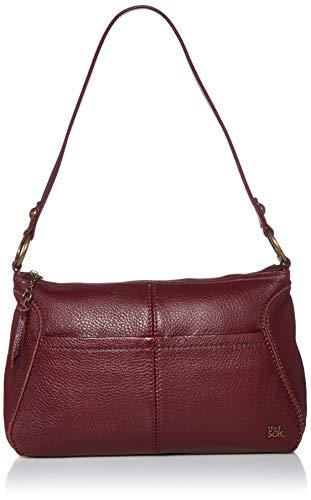 The Sak womens Women's Iris Leather Small Hobo Handbag, Cabernet, One Size US