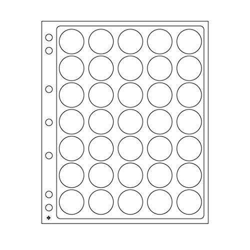 Leuchtturm Pochettes plastiques ENCAP, transparentes pour 30 pièces de 10 € sous capsules d'origine