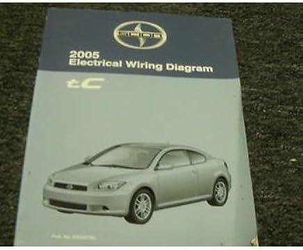 2005 scion tc electrical wiring diagram service manual paperback – 2005