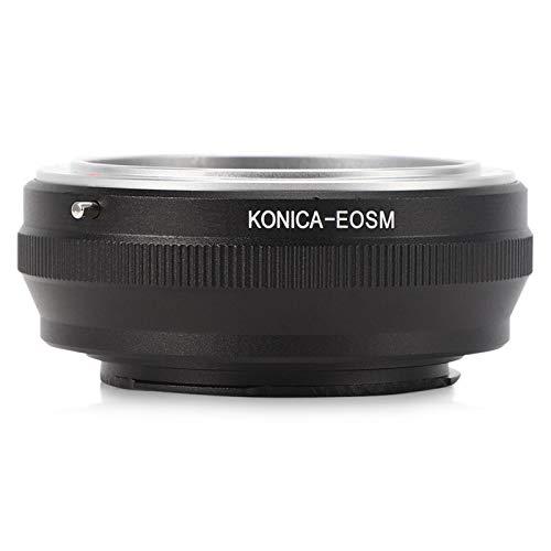 Anillo Adaptador de Lente, Anillo Adaptador de Lente de cámara de Metal para Montura para Konica AR Lente para Canon EOS M (EF-M) Cuerpo de cámara
