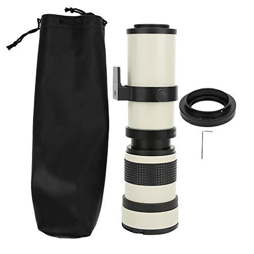 420-800 mm Objektiv mit manueller Fokussierung, F / 8.3-16 Teleobjektiv mit vollständigem manuellen Fokuszoom für EF-S-Montagekamera