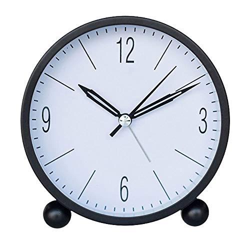 Joker Alarm Clock Habitación de los niños Luz de la noche Reloj Decoración simple Dormitorio lindo Reloj de alarma Mesita de noche Péndulo Trabajadores de oficina Reloj despertador casero 3 color 11 *