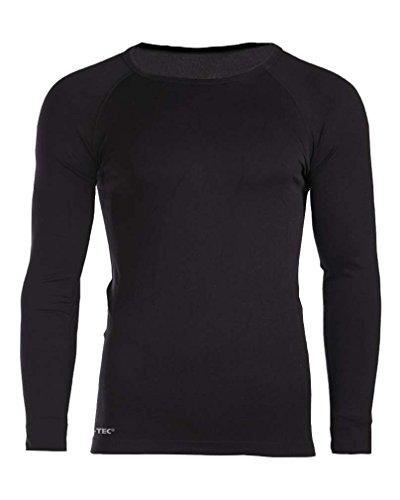 T-shirt Militaire Sports - Manche Longue - Noir