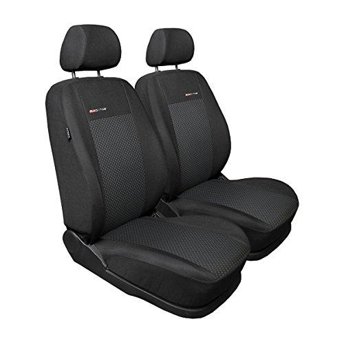 Elegance (E3) (maßgeschneidert) - Autoschonbezug-Set (2-Sitzer) - 5902311275229