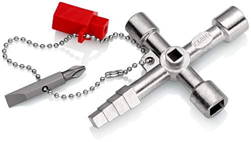 KNIPEX 00 11 04 Profi-Key para sistemas de paso estándar 90 mm