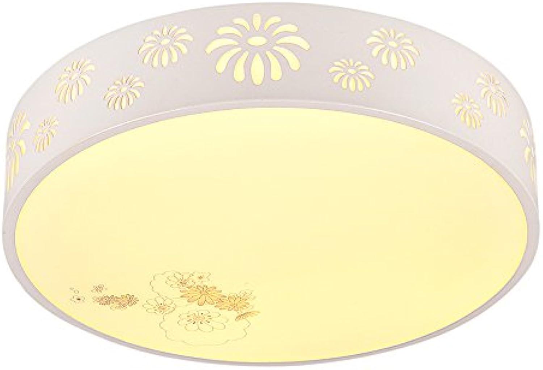 MEIHOME Deckenleuchten LED Kinderzimmer Wei 38 cm 24 W Intelligente Dimmen + Fernbedienung Deckenlampe für Schlafzimmer Wohnzimmer Küche Badezimmer