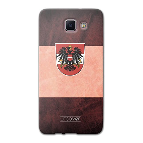 Urcover Fußball Schutzhülle kompatibel mit Samsung Galaxy A5 2016 [ Team Österreich ] Fußball Case