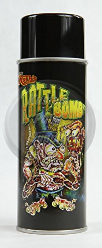 Lil' Daddy Roth Rattle Bomb Flake - Sublime Green - 12oz Aerosol