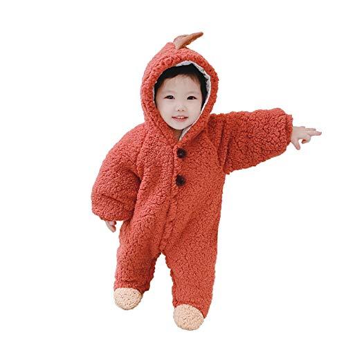 LUCKME Baby Kleinkind Tiere Niedlichen Cartoon Pyjamas Kostüm Fleece Strampler...