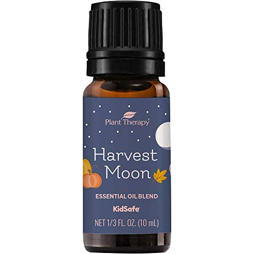 Plant Therapy Harvest Moon Fall Blend Essential Oil 10 mL (1/3 oz) 100% Pure, Undiluted, Therapeutic Grade