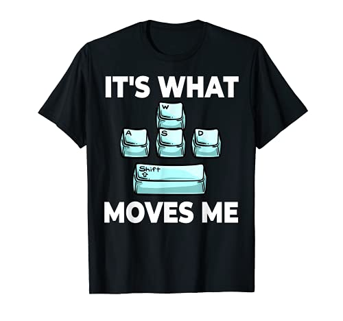 WASD Clavier de gaming T-Shirt