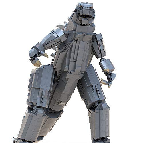 2435 PCS Bloque De Construcción Godzilla Rey De Monstruos, Puzzle Técnico Técnico Super...