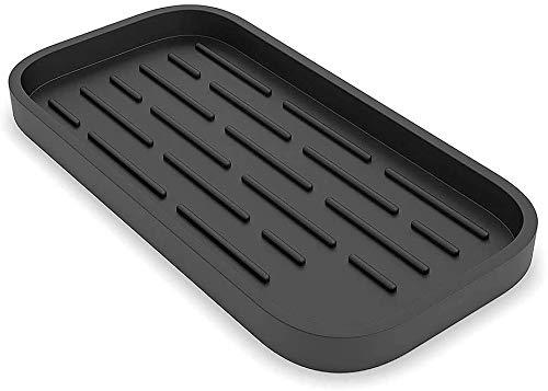 Organizador para fregadero de cocina, FayTun lavavajillas de encimera, soporte para esponjas y kit de cepillos para mesas, tocadores y armarios para lavar platos