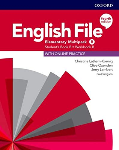 English File 4th Edition Elementary. Multipack b (English File Fourth Edition)