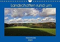 Landschaften rund um Marienheide (Wandkalender 2022 DIN A4 quer): Eine Gemeinde im schoenen Bergischen Land inmitten herrlicher Natur. (Monatskalender, 14 Seiten )
