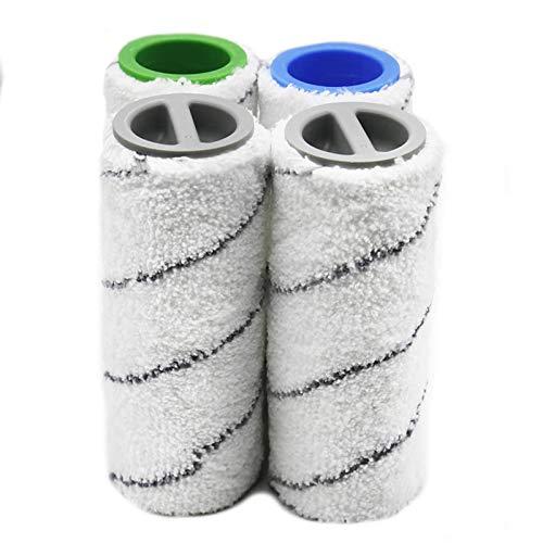 Ersatz Mikrofaser Rollenbürste passend für Kärcher FC3 FC5 Bodenreiniger Teile Zubehör