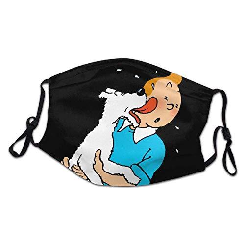 Les Aventures De Tim und Struppi Ohr hängende Gesicht Schal Bandana Kopfbedeckung