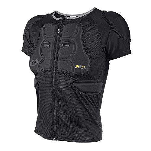 O\'NEAL | Protektoren-Jacke | Motocross Enduro Motorrad | Bequeme Protektorenjacke, 4-Wege-Stretch-Mesh/Lycra, aus Polyurethan-Schaum | BP Protector Sleeve | Erwachsene | Schwarz | Größe M