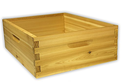 Arboria 10 Frame Medium Hive Box Premium Cedar Wood for Langstroth...