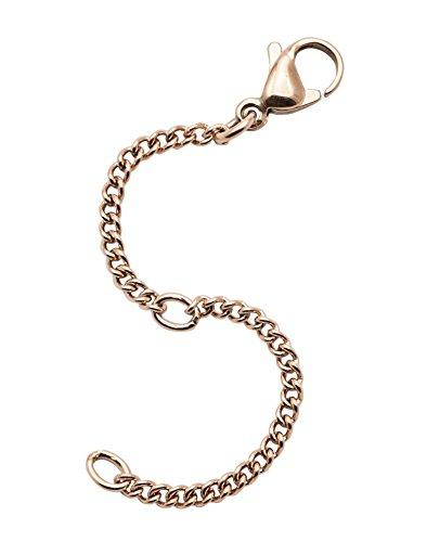 IhnSie Verlängerungskette Verlängerung Kette Sicherheitskette Halskette Armband vergoldet Rosegold Farbe 8сm lang