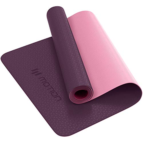 Yoga Mat Classic Pro Yoga Mat TPE Eco Friendly Non Slip Fitness Exercise Mat. Workout...