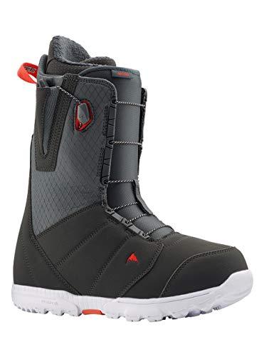 Burton Moto Botas de Snowboard, Hombres, Gray/Red, 105