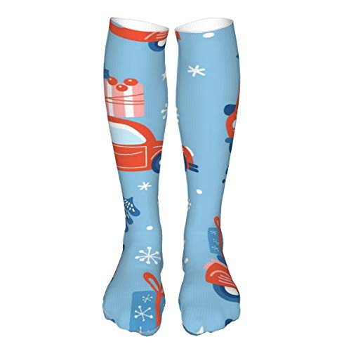 iksrgfvb Patrón sin fisuras para vacaciones de Navidad. Fondo infantil para tela, soporte de cojines gruesos en calcetines de pantorrilla3x50 pulgadas