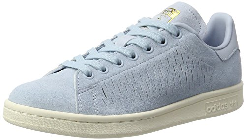 adidas Stan Smith, Sneaker Donna, Blu (Easy Blue/Easy Blue/Chalk White), 40 EU