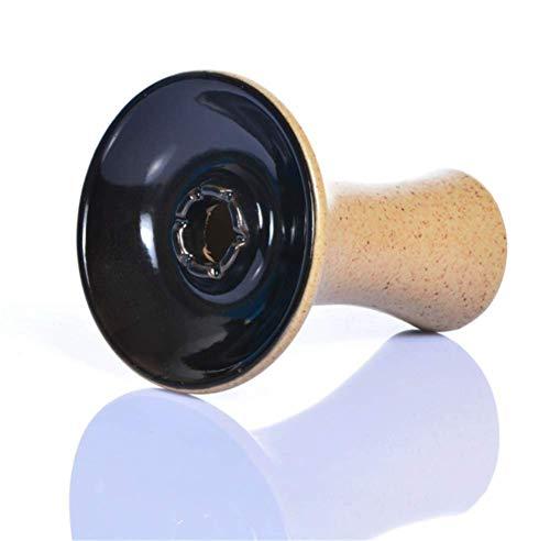 XZYP Arabian Hohe Qualität Shisha Shisha Keramik-Topf-Set Rauch Schüssel Shisha Shisha Zubehör Shisha Schüssel Shisha,Schwarz