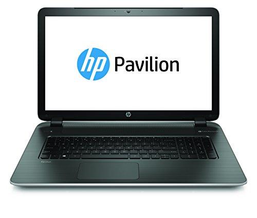 HP 17-f042ng 43,9 cm (17,3 Zoll) Laptop (AMD Quad-Core A8-6410, 2,0GHz, 4GB RAM, 500GB HDD, Radeon R5, DVD, kein Betriebssystem) silber