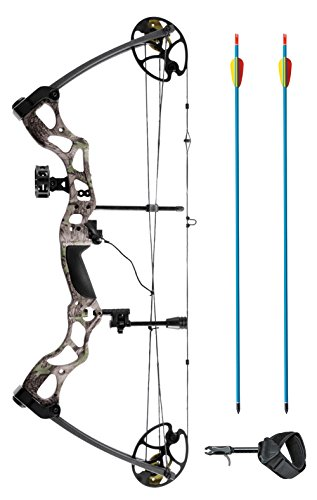 XGear Right Hand Compound Bow 50-70lbs 25'-31' Archery Hunting Equipment with Max Speed 310fps