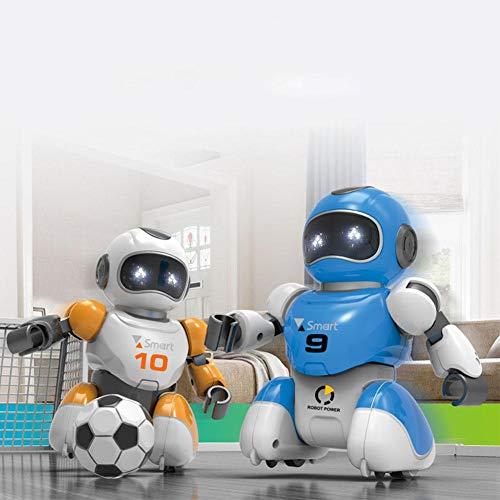 Goodtimera Roboter Spielzeug Für Kinder, Programmierbar, Intelligente Lade Fernbedienung Fußball Roboter Spielzeug, RC Ferngesteuerter Fußballer Roboter Tremendous