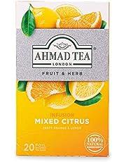 Ahmad Tea Mixed Citrus Früchtetee mit Zitrusgeschmack, 2 g (20 Teebeutel)