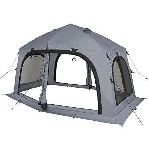 DOD(ディーオーディー) ワカサギ釣り 用 テント ワンタッチ構造 で 簡単 組み立て T4-609-GY