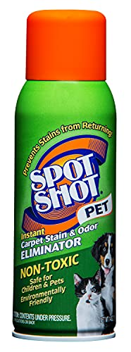 SpotShot Pet Instant Carpet Stain & Odor Eliminator, 14 OZ [6-Pack]