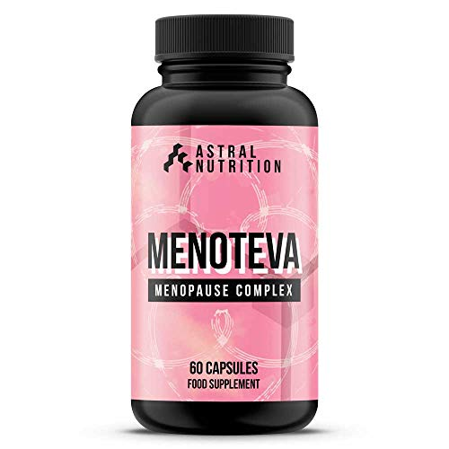 Menoteva Menopause Support Supplement - 1 Month Supply | Stops Hot Flashes & Night Sweats | Helps Improve Mood | 100% Natural Relief Formula