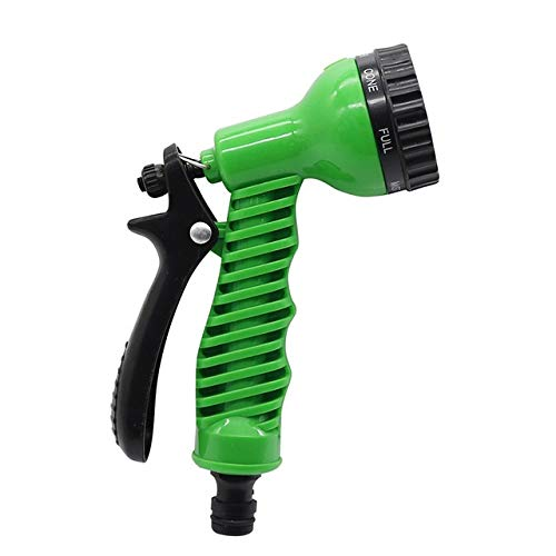 Telescópica Conector manguera de jardín Spray de Agua de coches pistola ajustable Car Wash manguera de jardín de pulverización portátiles de alta presión Pistola de riego tobera 7 de chorro de agua Pa