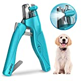 Dog nail clippers, Pet nail clippers with LED Light to Avoid Over Cutting