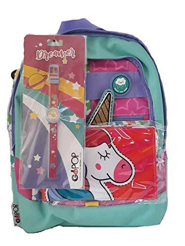 Giochi Preziosi Gopop Zaino Estensibile Dreamer 19 Femmina Zaini Scuola, Multicolore, 8056379074885