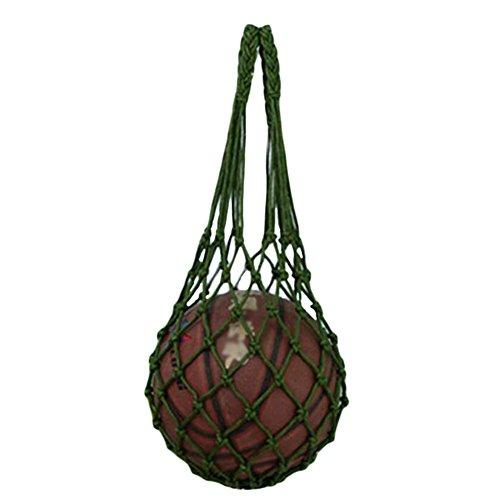 Black Temptation Basket Foot Volley-Ball Pocket Hand-Porter Training Bag 70cm Vert