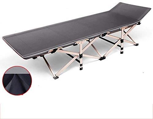 Balancelle Sunbed Lit pliant Lit simple Companion Lit d'extérieur Beach Chair Bureau Portable Chaise longue, charge de 300 kg, Longueur 190 cm xiuyun